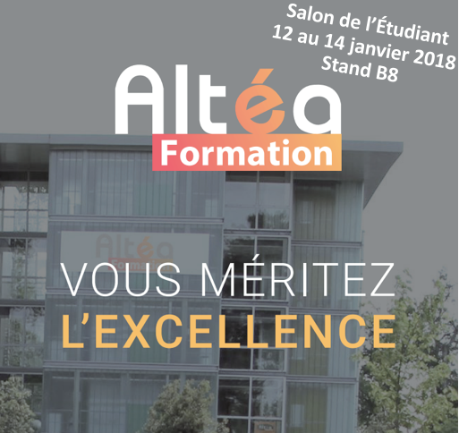 Altea formation bts bachelors mast res en alternance for Salon de l etudiant bordeaux