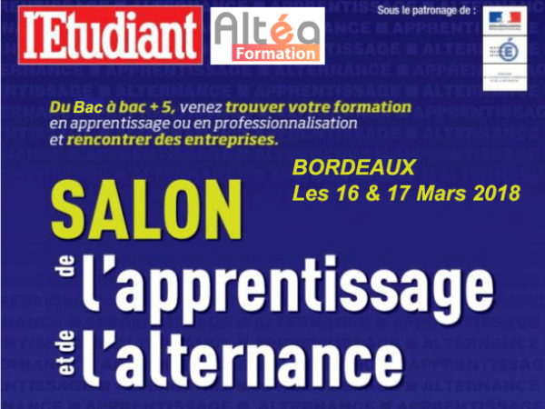 V nement altea formation - Salon de l alternance bordeaux ...